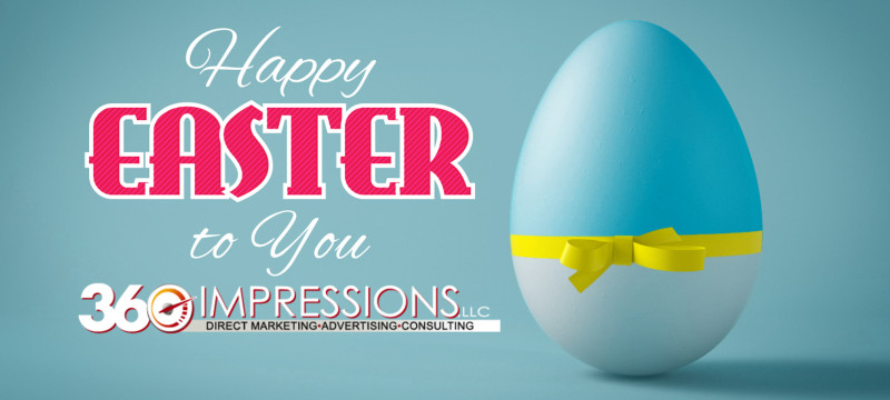 Happy Easter from 360 Impressions