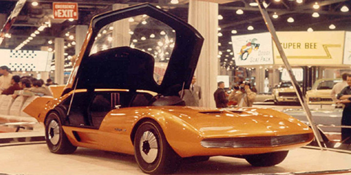 TBT: The 1968 Dodge Charger III Concept