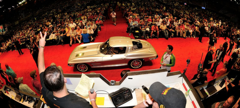 The Mecum Auction is going on now in Austin, TX
